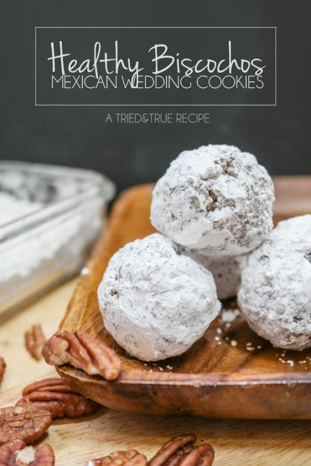 Holiday Recipe Ideas - Raw Vegan Healthy Biscochos (Mexican Wedding Cookies)