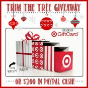 Trim the Tree $200 Giveaway!