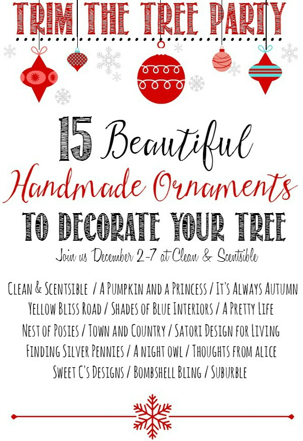 15 Beautiful Handmade Ornaments to Decorate Your Tree