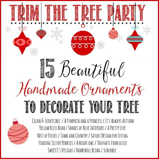 Trim the Tree Party- Handmade Ornaments