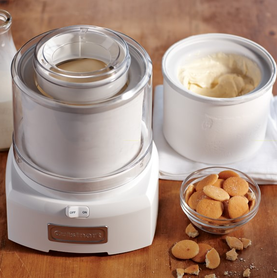 Cuisinart Ice Cream Maker from Williams Sonoma