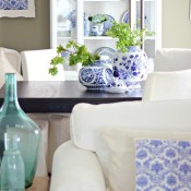 Blue and White Porcelain Collection - Craftberry Bush