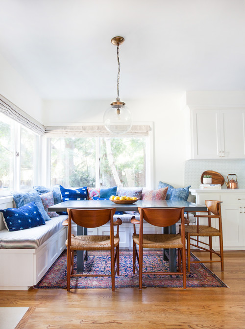 Eclectic Dining Room by West Hills Interior Designers & Decorators Amber Interiors