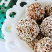 Joyous Health Raw Carrot Cake Balls