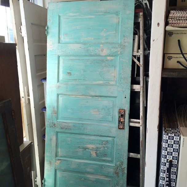 Kitchen Renovation - Salvaged Blue-green Door from SAjO Weathered Home - Satori Design for & Prepping for Our Kitchen Renovation - Satori Design for Living pezcame.com