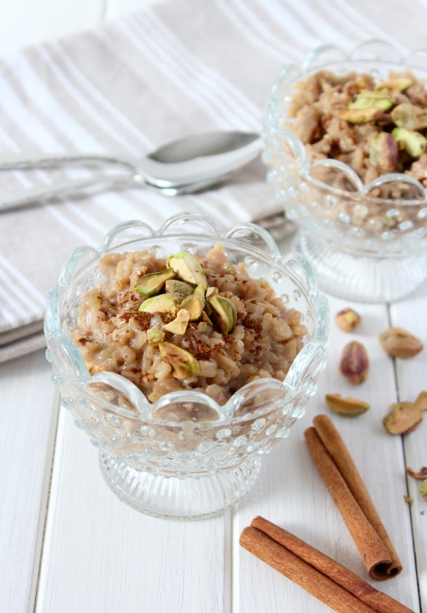 Chai Spiced Brown Rice Pudding