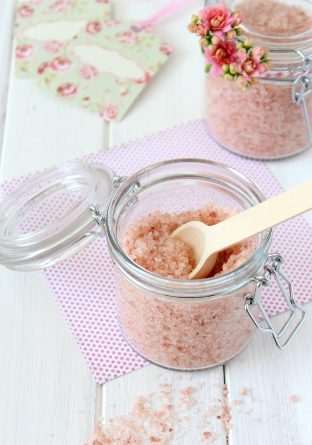 Pink Grapefruit Salt Soak - DIY Mother's Day Gift Idea - Satori Design for Living