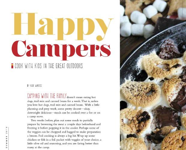Yum Food & Fun for Kids Feature - Skillet S'more Brownies Recipe - Satori Design for Living