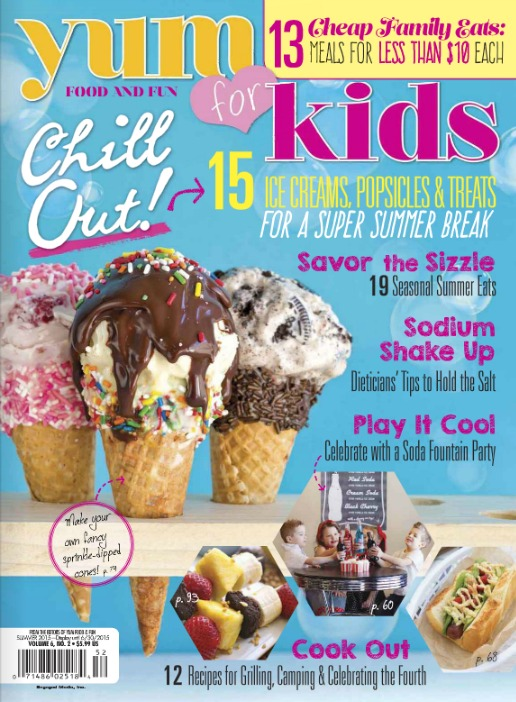Yum Food & Fun for Kids Summer 2015 Feature - Satori Design for Living