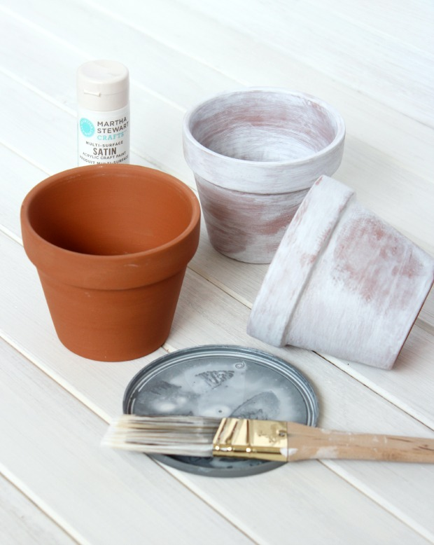 How to Age Terracotta Pots Using Paint | Satori Design for Living