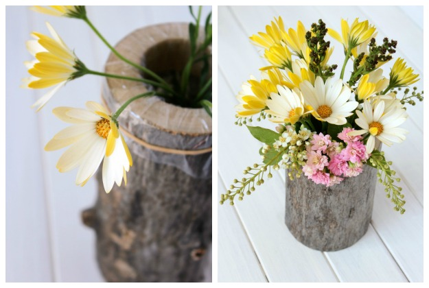 How to Make Country Garden Party Table Centerpieces - DIY Wedding Table Decor - Satori Design for Living