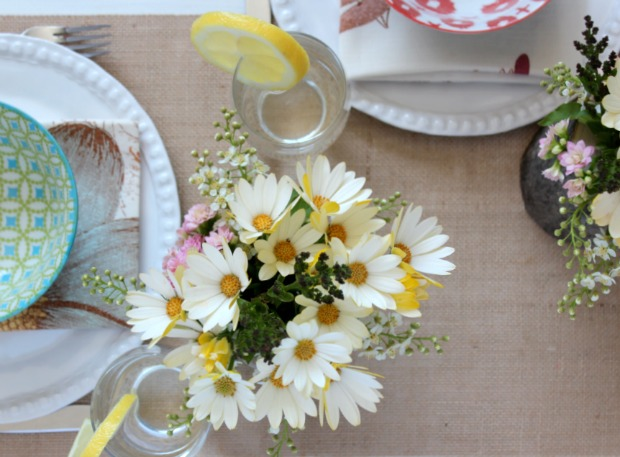 Outdoor Entertaining - Country Garden Party Tablescape | Satori Design for Living