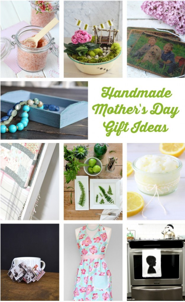 10 Handmade Mother's Day Gift Ideas - Discover more at SatoriDesignforLiving.com