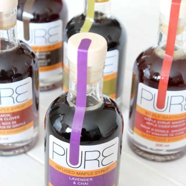 PURE Infused Maple Syrup - Recipe Idea at SatoriDesignforLiving.com