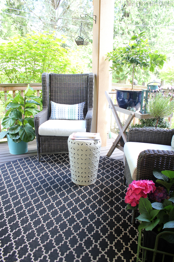 Summer Porch Decorating Ideas - The Inspired Room
