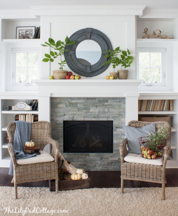 Fireplace Makeover - Satori Design for Living