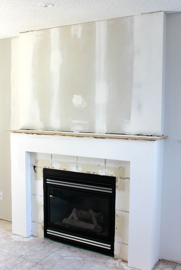 Fireplace Makeover Progress Satori Design For Living