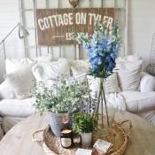 Summer Decorating Ideas - Liz Marie Blog