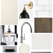 Our Kitchen Renovation Plan - Classic Kitchen with a Touch of Vintage Bistro - Mood Board by Satori Design for Living