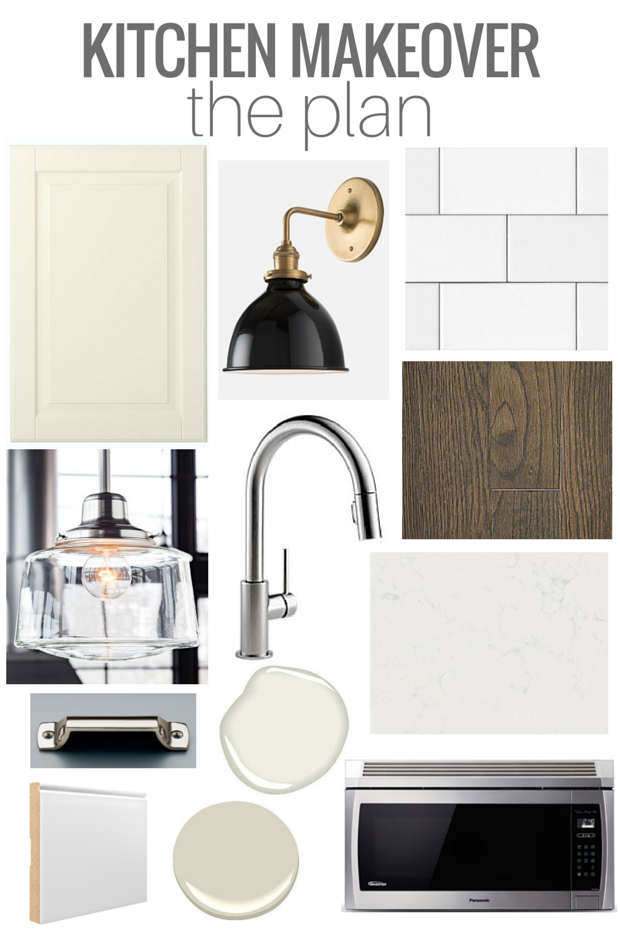 Our Kitchen Renovation Plan - Classic White Kitchen with a Touch of Vintage Bistro - Mood Board by Satori Design for Living