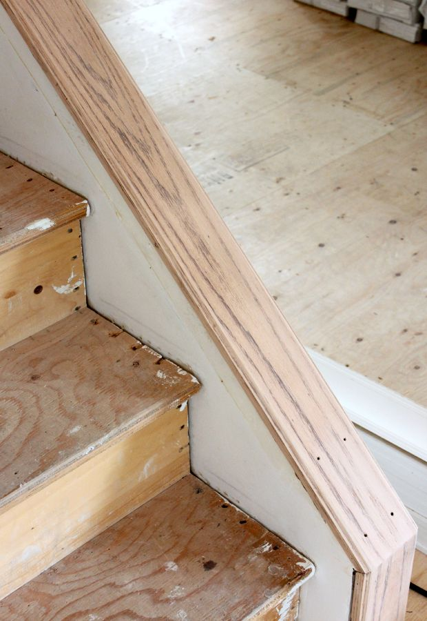 How to strip stain from staircase - SatoriDesignforLiving.com
