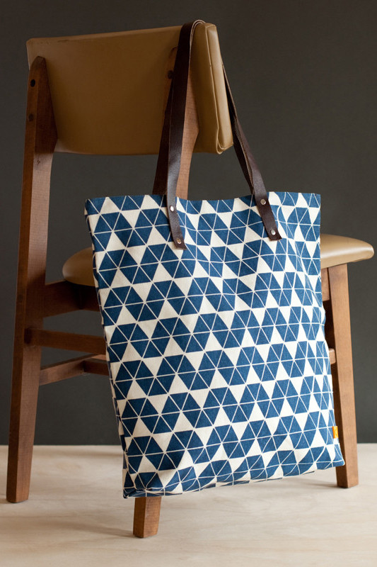 Canvas + Leather Tote from Dignify - Gifts that Give Back - Meaningful Christmas Gifts Hand Picked by Satori Design for Living