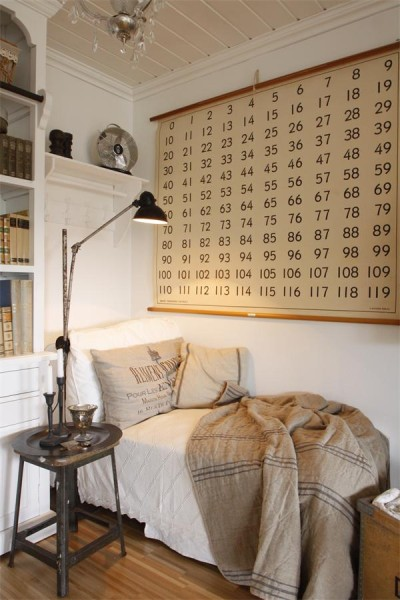 Cozy Reading Nook - Magazine Jeanne d'Arc Living