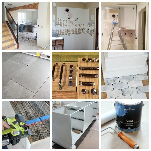 Main Floor Renovation Progress - Satori Design for Living