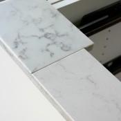 Kitchen Renovation Update: Marble Quartz Countertop
