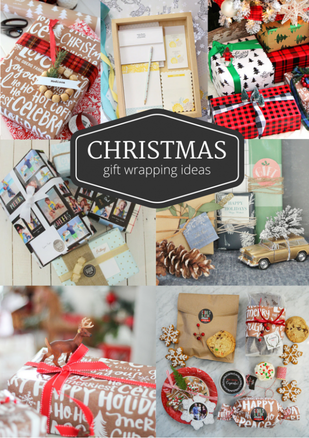 Christmas Gift Wrapping Ideas - Gift Tags - Wrapping Paper - Embellishments - Discover more at SatoriDesignforLiving.com