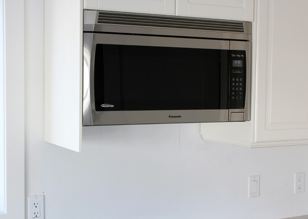 Panasonic Genius Prestige Plus Over The Range Microwave Oven Kitchen Makeover By Satori