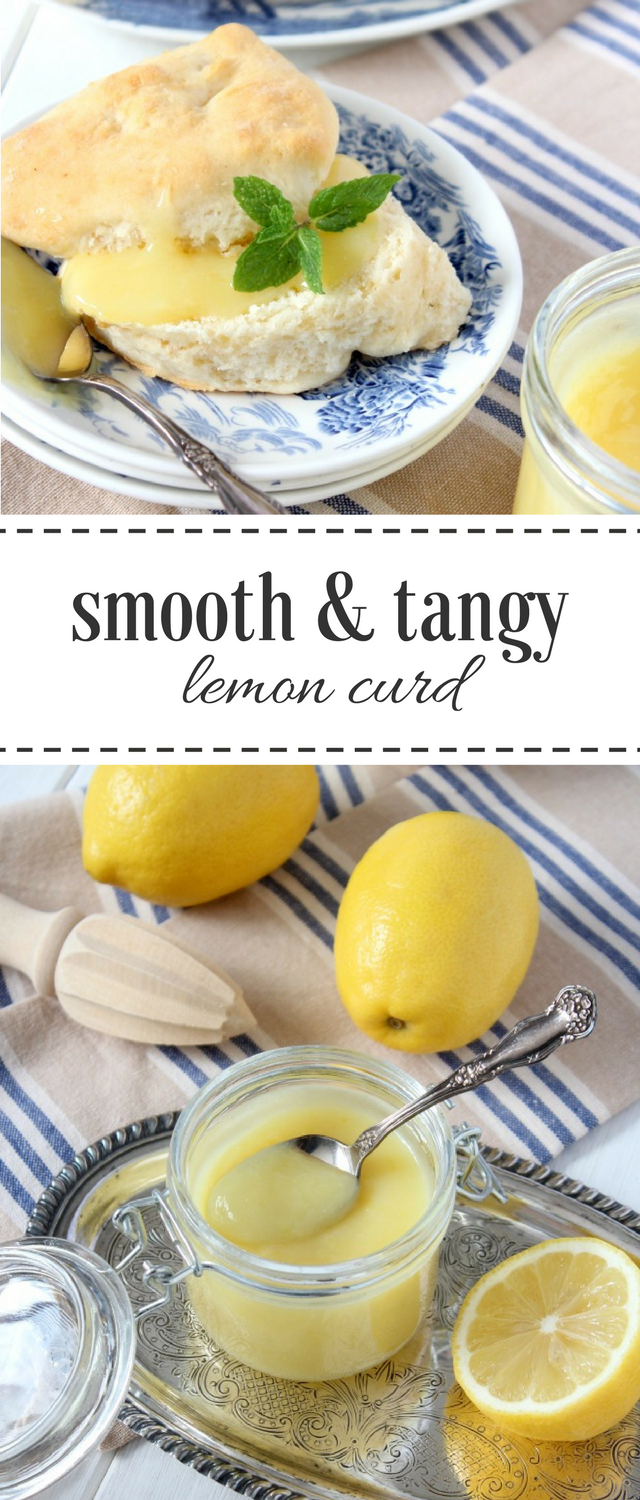 A rich, smooth and tangy lemon curd recipe that's the perfect complement to scones, crumpets, pancakes, desserts, yogurt and more! Satori Design for Living