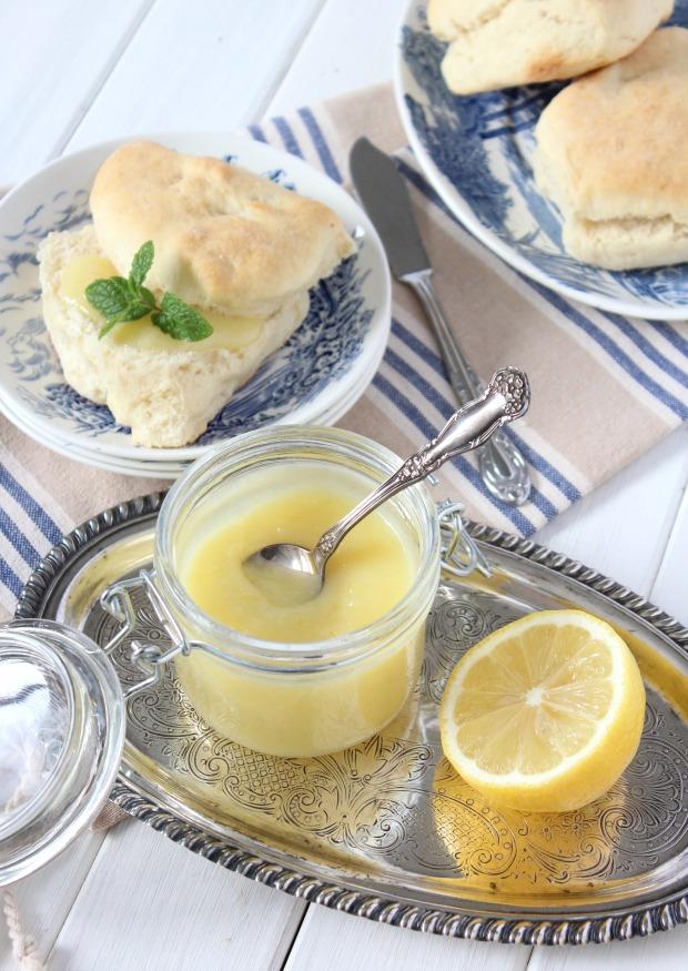 Homemade Lemon Curd Recipe - Satori Design for Living