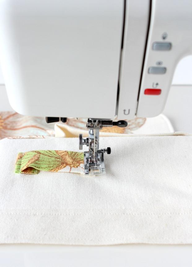 How to Sew a Gardening Apron - DIY Utility Apron Tutorial - Satori Design for Living
