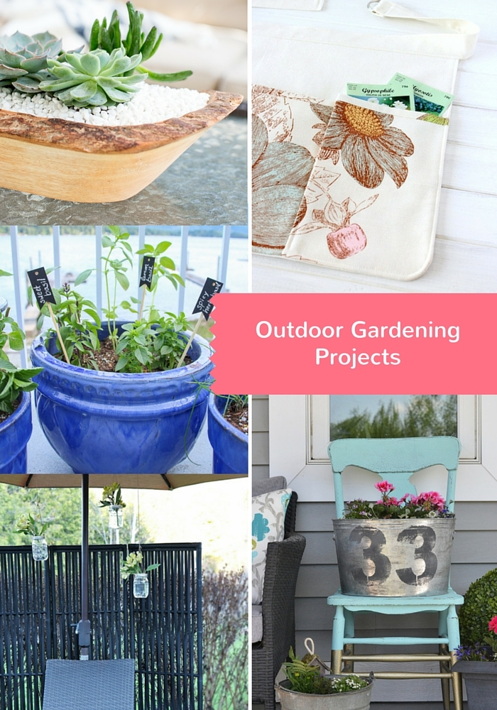 DIY Outdoor Gardening Ideas - Discover more at SatoriDesignforLiving.com