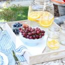 Flea Market Style Outdoor Table Setting
