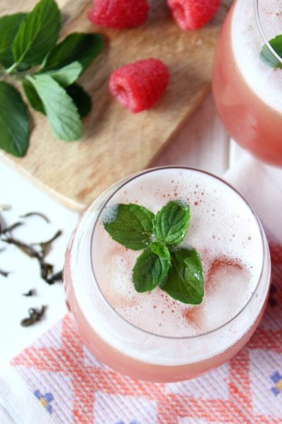 Berry and Mint Green Iced Tea Recipe - Satori Design for Living