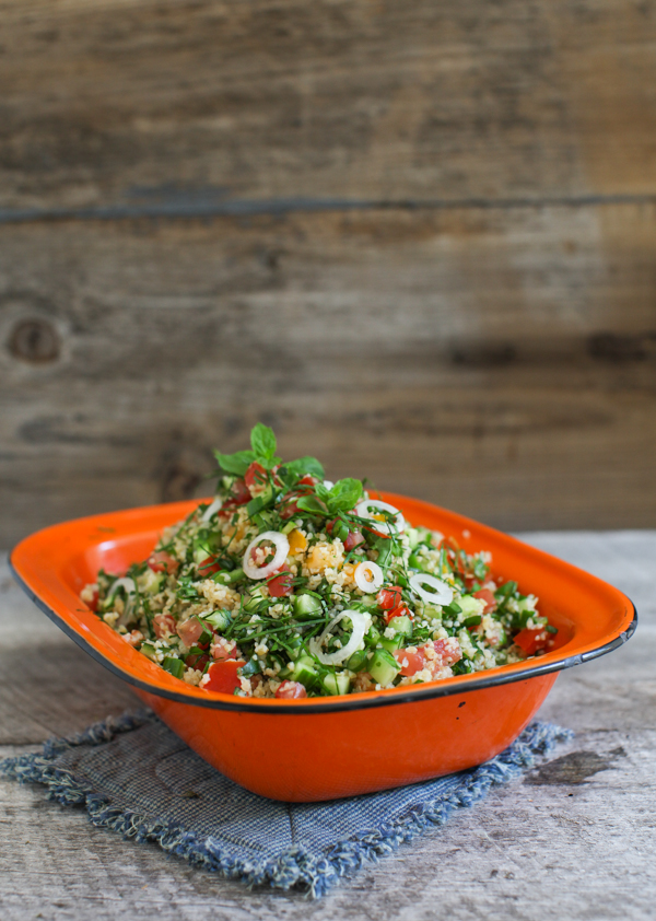 Kale Tabbouleh with Fresh Mint by Simple Bites