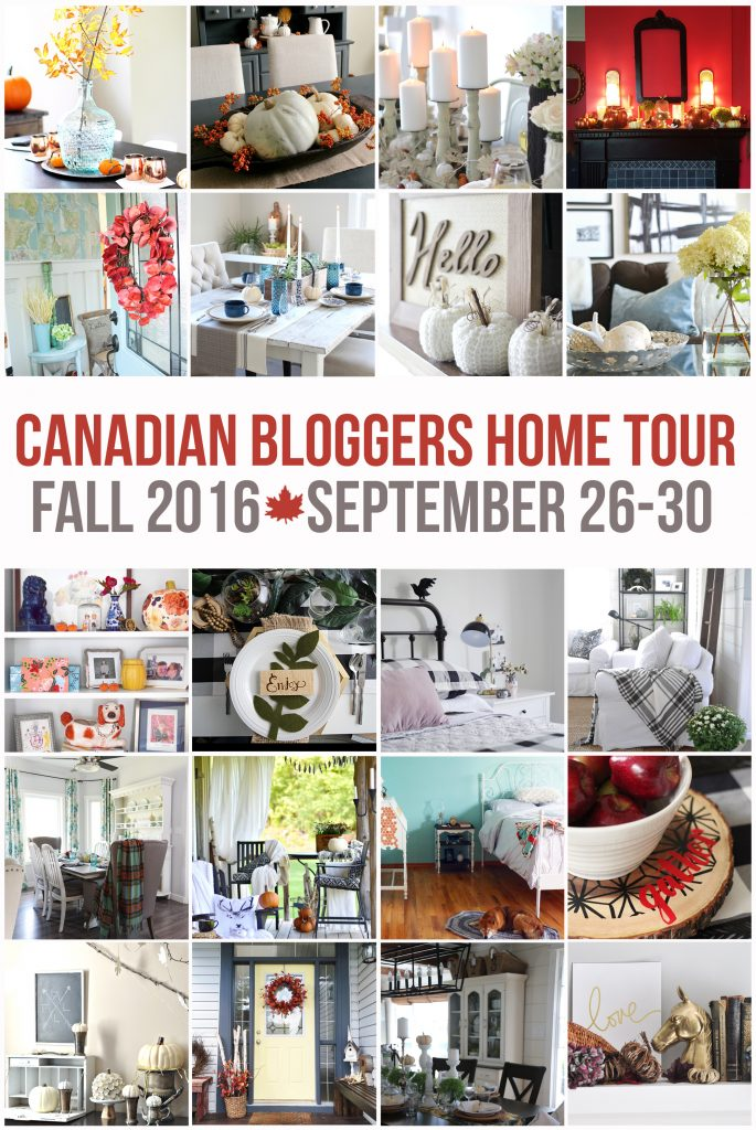 2016 Canadian Bloggers Fall Home Tour - Discover more at SatoriDesignforLiving.com
