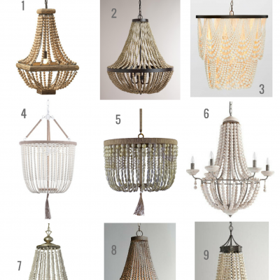 Beaded Chandeliers & Invaluable Lighting Lessons