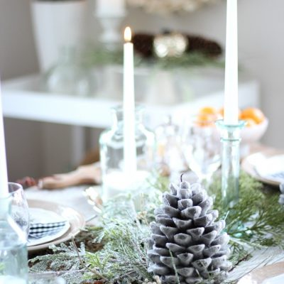 Christmas Home Tour - Take a look at this home decked out for the holiday season!