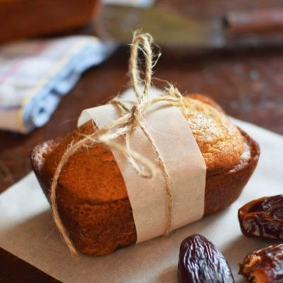 Tasty Banana Recipes - Banana Date Mini Loaves from Woman in Real Life