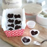 Chocolate Truffle Hearts with Fleur de Sel