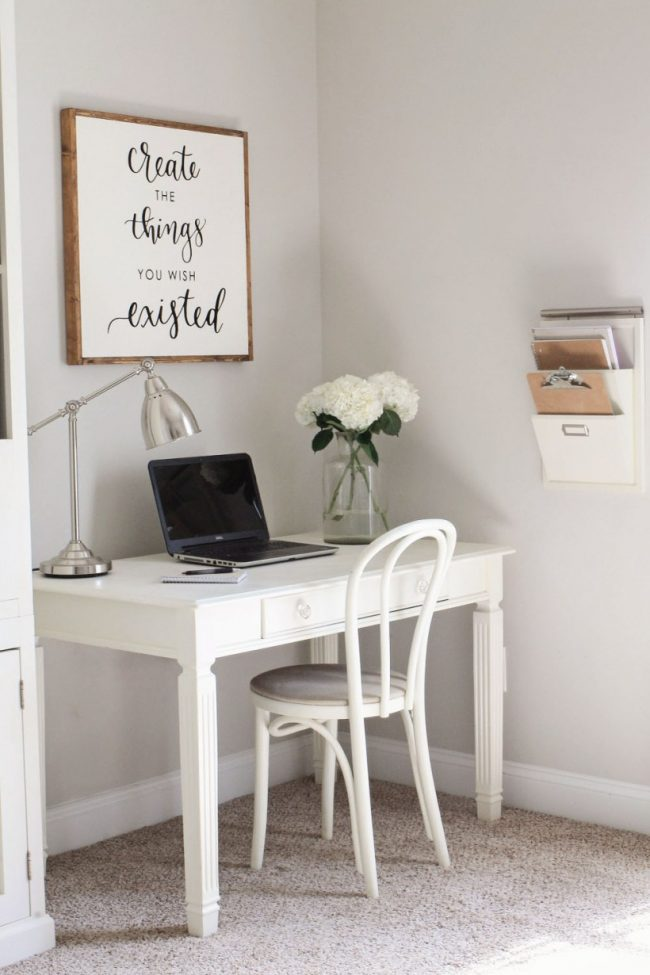 DIY Wall Art - Wood Sign Calligraphy Quote by Angela Marie Made