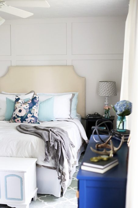 Behr Cameo White Bedroom - Just a Girl and Her Blog - Top Paint Color Picks