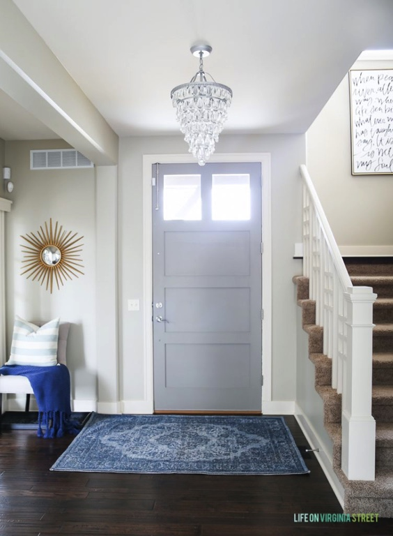 Behr Castle Path Entryway - Life on Virginia Street - Top Paint Color Picks