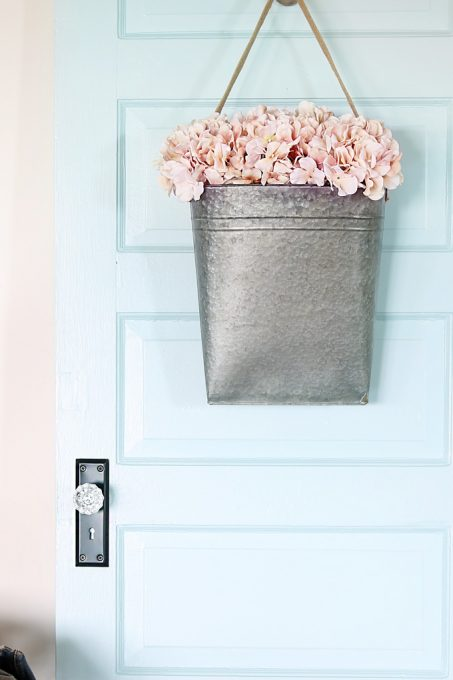 Behr Clear Pond Blue Door - Just a Girl and Her Blog - Best Paint Colors