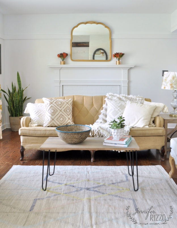 Glidden Crystal Clear White Living Room - Jennifer Rizzo - Top Paint Color