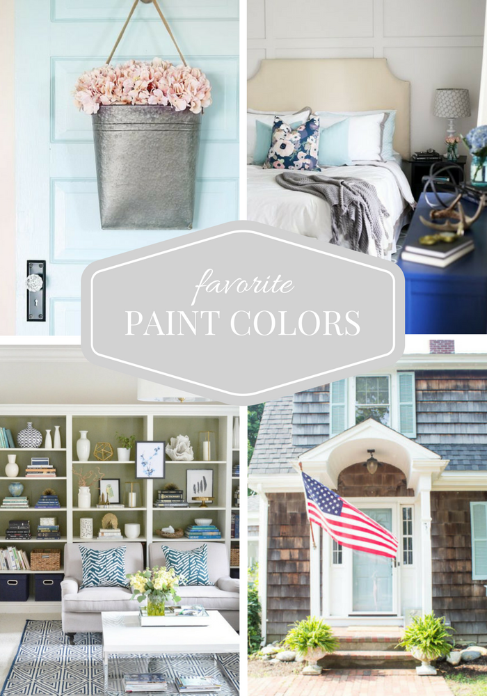 Favorite Paint Colors from Top Home Bloggers - Popular Series Hosted by SatoriDesignforLiving.com