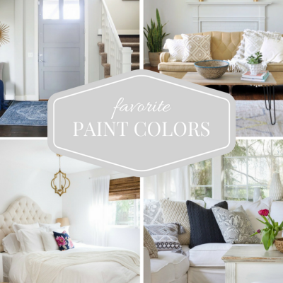 Paint Color Picks from Top Home Bloggers {Part Two}